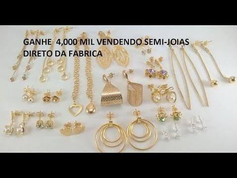 Revendedoras Jóias folheados ouro - Foto 2