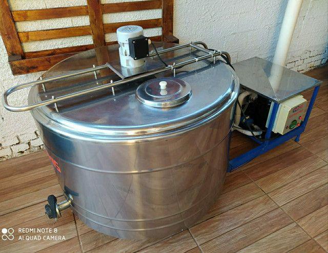 Refrigedor de Líquidos em Inox A Granel Semi Novo 300 Litros  - Foto 2