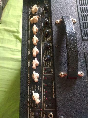 Baixei pra vender amplificador guitarra Vox vt80+ 120w de potência - Foto 4