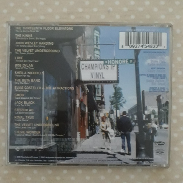 CD High Fidelity - Alta Fidelidade - Music From the Original Motion Picture - Foto 3