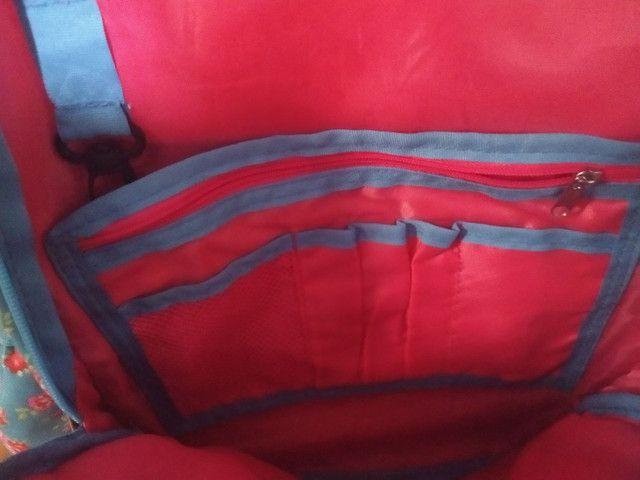 Bolsa escolar bem conservada  - Foto 3