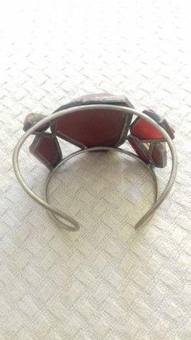 Bracelete com pedras - Foto 2