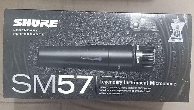 Microfone Shure Sm57  - Foto 2
