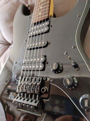Guitarra Seizi Mosh RW Metalic Black - Foto 5