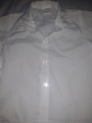 Blusas social veste ate 1 ano de idade masculina  - Foto 3