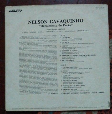 """LP Nelson Cavaquinho - """"Depoimento do Poeta"""" - Foto 3"""