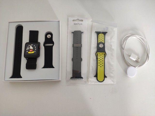 Smartwatch Iwo 42 mm + Brindes - Foto 2
