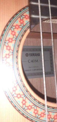 *VIOLÃO YAMAHA C40M + bag + tripé* - Foto 3