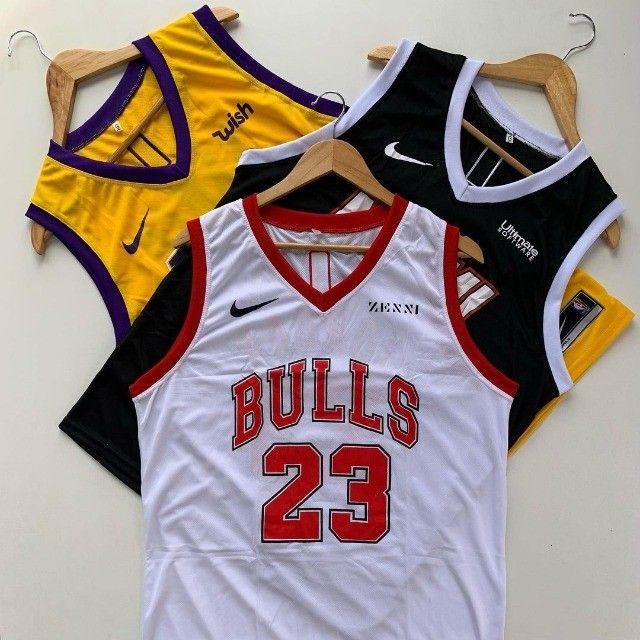 Camisas regatas de basquete da NBA - Foto 4