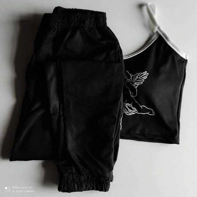 Conjunto cropped e calça! - Foto 3