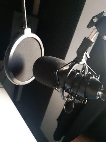Microfone Condensador BM800 + Braço aranha  - Foto 4