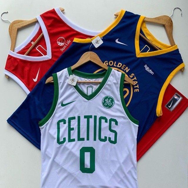 Camisas regatas de basquete da NBA