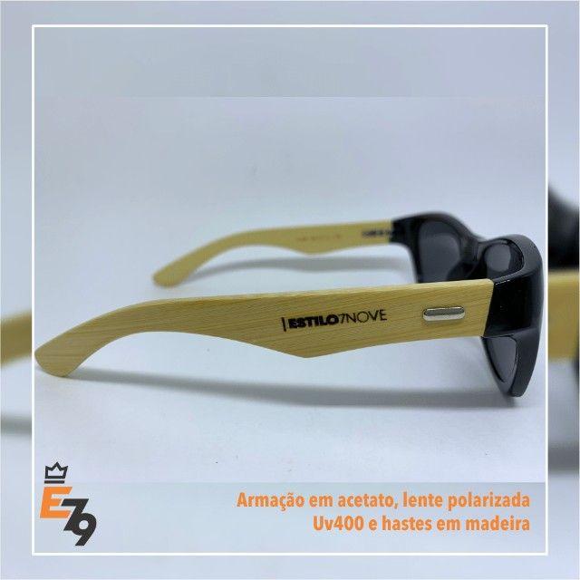Estoque de óculos de sol e grau