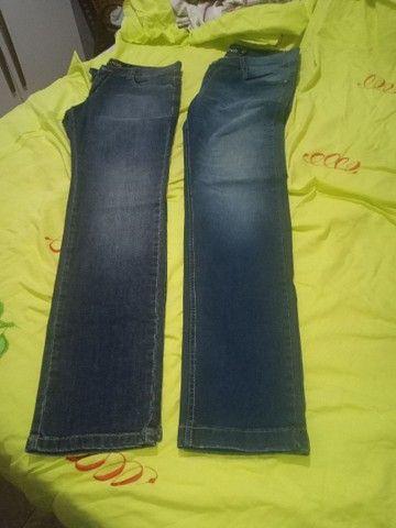 Várias calças semi nova - Foto 3