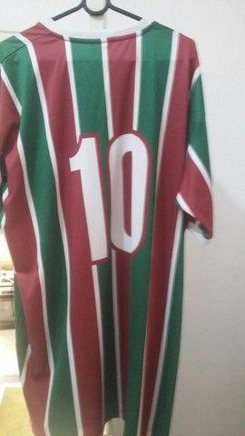 Camisa Fluminense Força Flu tamanho GG - Foto 2