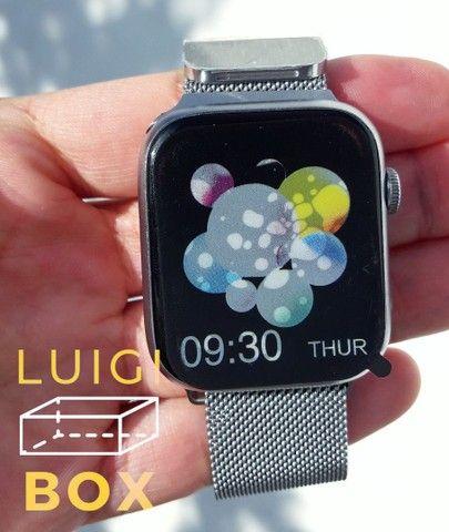 Relógio inteligente - Smartwatch x7- Prata  - Foto 2
