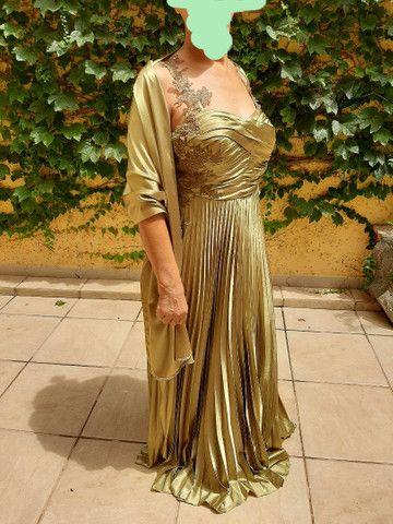 Vestido longo luxo - Foto 5