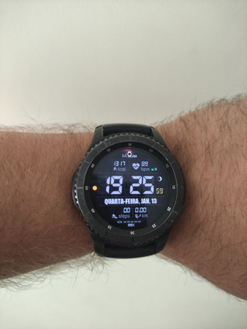 Smartwatch Samsung Gear S3 Frontier - Foto 2