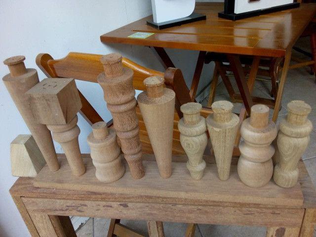 Confecção de peças de madeira torneadas - Foto 5