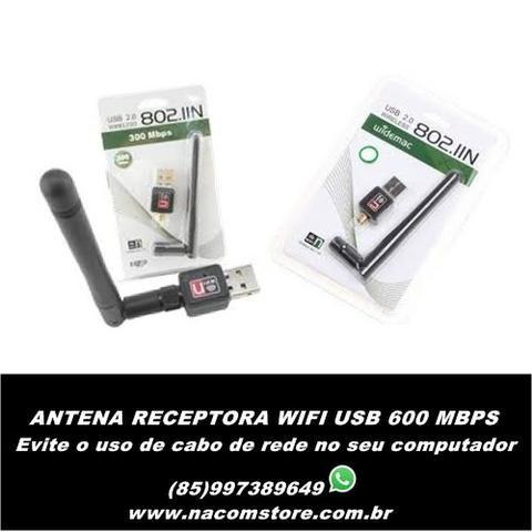 Antena Receptora Wireless Wifi Usb 900 Mbps