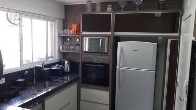 Oportunidade apartamento mobiliado de 122 m² e 4 dormitórios no splendor garden jardim das - Foto 7