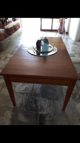 Mesa peroba mica conservada - Foto 5