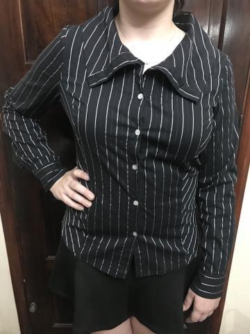 Camisa preta tamanho 44
