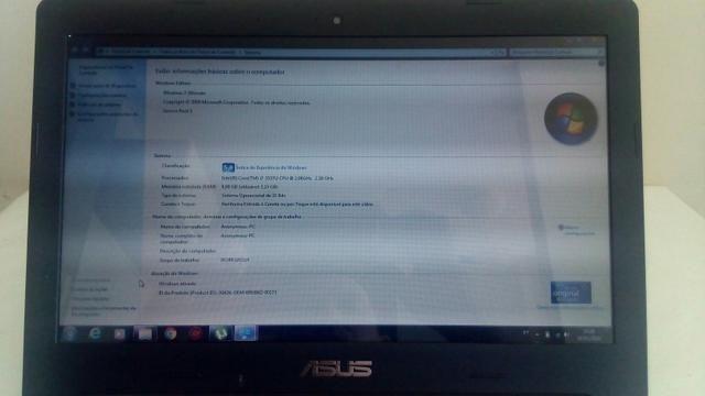 Notebook Asus s46c placa de vídeo 2GB