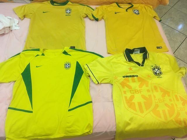 Camisas da seleção brasileira (De colecionador)