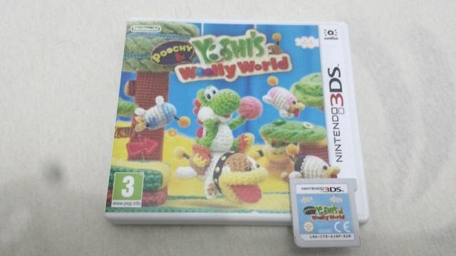 Yoshi Wolly World 3DS - EUROPEU