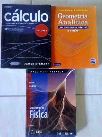 Livros (na ordem da foto)