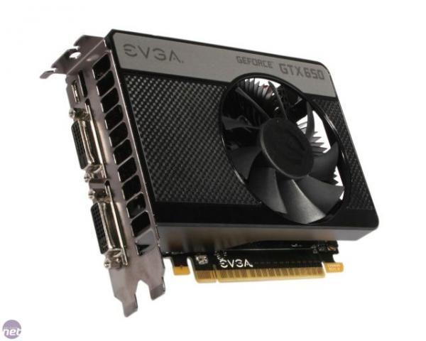 Placa de Vídeo GTX 650 2gb