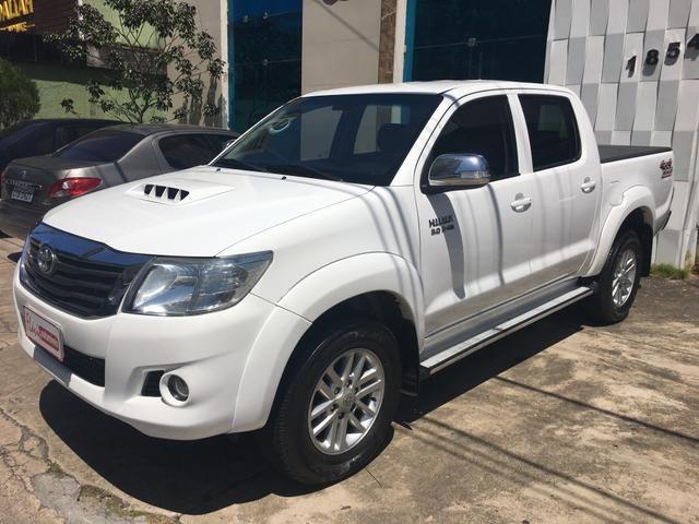 "Hilux CD SRV 2014/2015 a diesel 4x4 automática rodas 17"" oferta do dia ! - Foto 17"