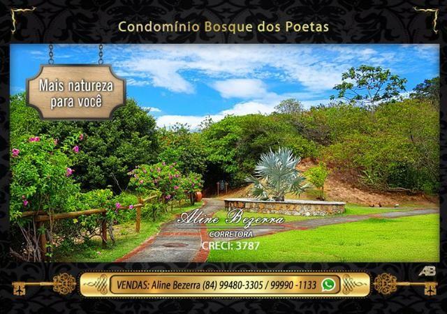 Oportunidade, lote no Bosque dos Poetas, 375m - Foto 2