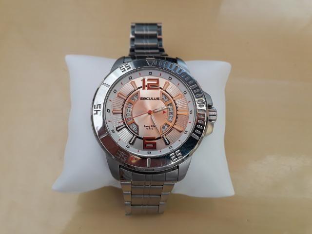 007f43a94cd Relógio Seculus long life - Bijouterias