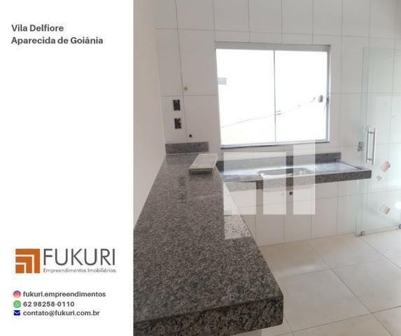 Casa Vila Delfiore 2Q c/ suíte - Aparecida de Goiânia - Foto 6