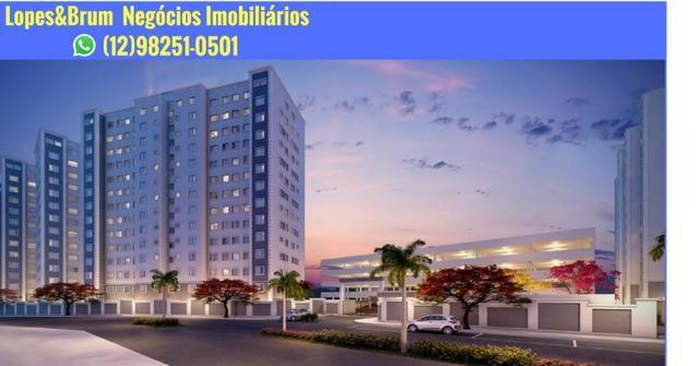 """""""*Excelente! Campos Gerais*"""" - Apto MRV Jd das Indústrias c/ Lazer e Vaga - Programa MCMV"""