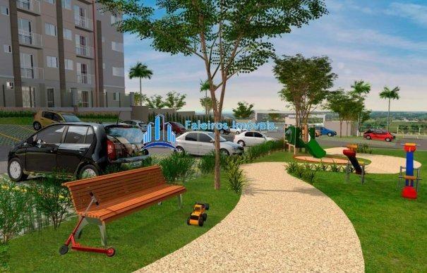 Apartamento 2 dormitórios com sacada e lazer completo MCMV - Apartamento em Lanç... - Foto 8