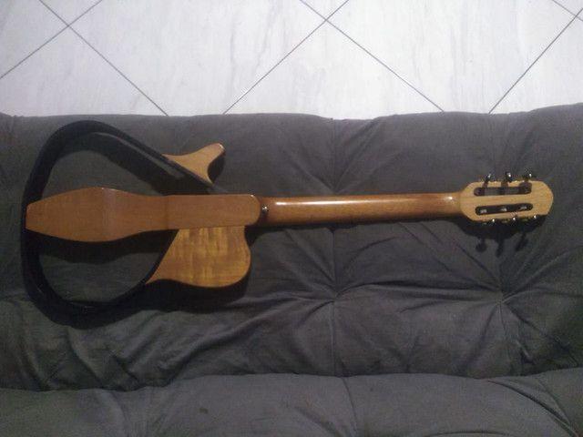 Vendo violão elétrico MARQUÊS - Foto 3