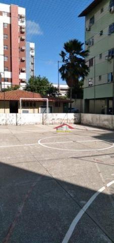 Apartamento com 3 dormitórios à venda por R$ 180.000,00 - Fátima - Fortaleza/CE - Foto 6