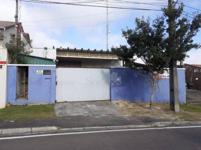Barracão à venda, 120 m² por R$ 350.000,00 - Barigui - Araucária/PR