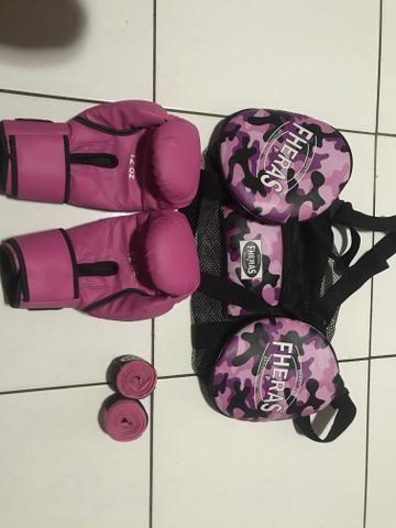 Luva de boxe feminino - Foto 2