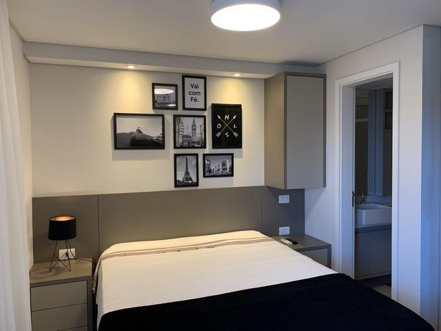 Apartamento Studio Totalmente Mobiliado no The Five East Batel - Direto com o Proprietário - Foto 9