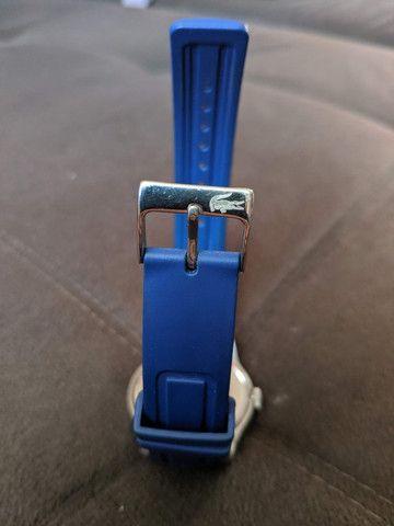 Relógio Lacoste Advantage Azul / Branco - aço inoxidável - Foto 4