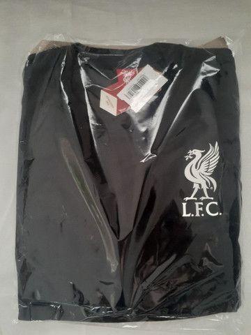 Camisa Liverpool All Black 125 Anos Edição Limitada Masculina - Foto 4