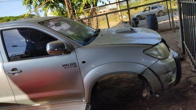 Toyota Hulix SW4 2007 A 2012 Sucata Com Garantia - Foto 12