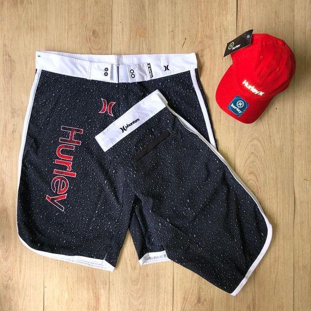 Shorts de praia Nike,hurey e oakley  - Foto 3