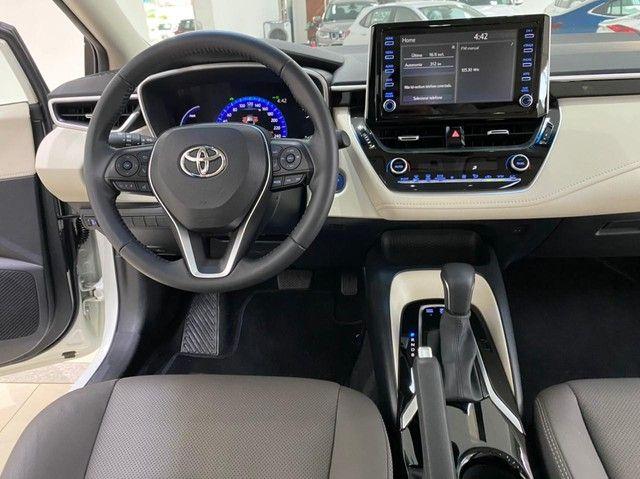 Corolla Altis Hybrid Premium 20/21 5.600 km ! - Foto 13