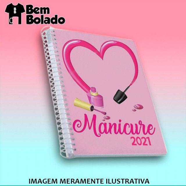 Agenda 2021 Manicure Cabeleireira Salão de Beleza - Foto 6