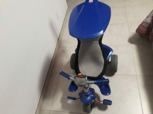 Triciclo smart confort bandeirande azul - Foto 4